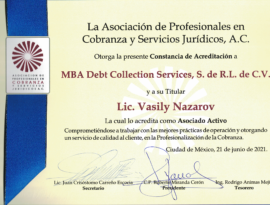Mexican branch of MBA Consult become the member of APCOB Association
